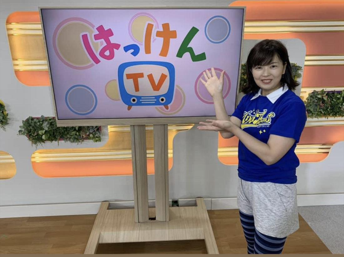 NHK体操のお姉さん(おばちゃん)に戻ります