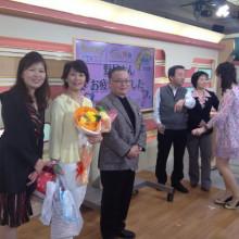 私は怪獣?(笑)NHK福岡 久々にご挨拶