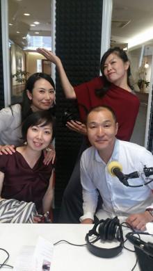 1日ラジオゲストは矢野さん夫婦 ♪