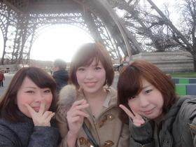 パリ☆ のこり500円で帰ってきました
